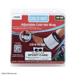 ADJUSTABLE ELASTIC COLD/HOT WRAP (MUELLER)