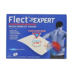 FLECT' EXPERT PATCH CHAUD FROID - BOITE DE 5 PATCHS 10CM X 14CM