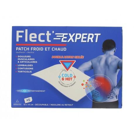 FLEC'T EXPERT PATCH CHAUD FROID - BOITE DE 5 PATCHS 10CM X 14CM