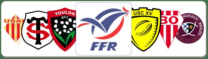 Clubs de rugby partenaires